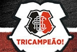 O povo t feliz! Santa tricampeo pernambucano