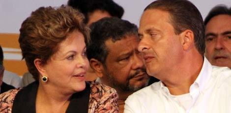 Clima mais ameno entre Dilma e Eduardo em novo encontro