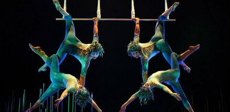 O Cirque du Soleil far os shows em Boa Viagem / Foto: Divulgao