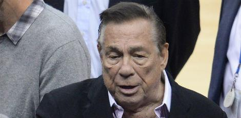 Donald Sterling, dono do LA Clippers / Foto: ROBYN BECK / AFP