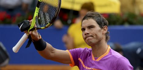 Nadal agora vai disputar as quartas / Josep LAGO / AFP