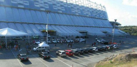 Evento automotivo marca domingo na Arena de Pernambuco
