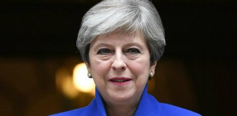 A primeira-ministra britânica, Theresa May / Foto: AFP