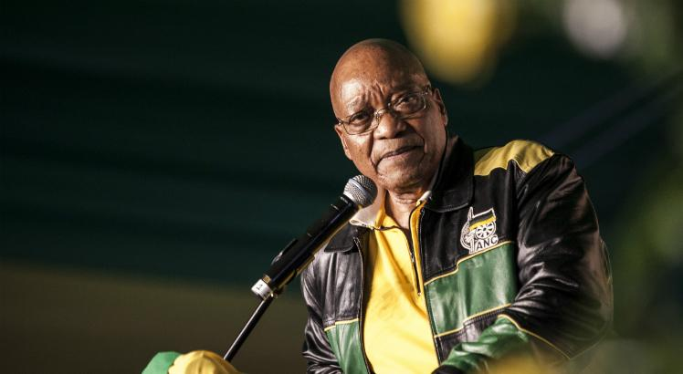 Jacob Zuma, presidente da África do Sul / Foto: AFP