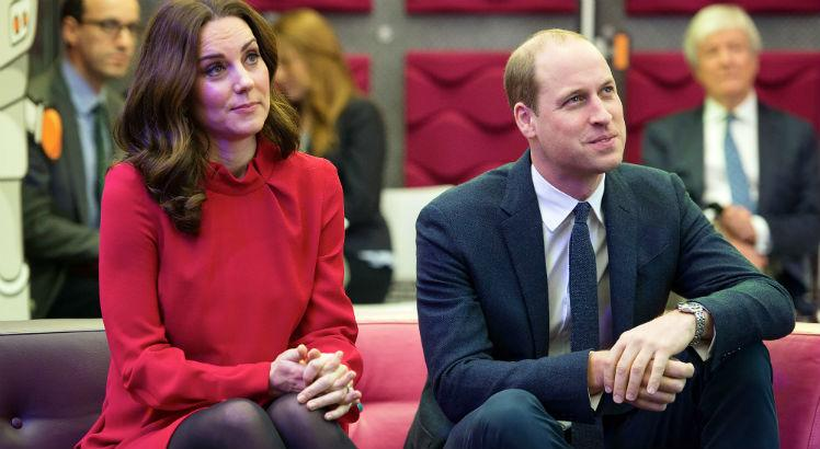 Duquesa e duque de Cambridge, Kate Middleton e príncipe William / Foto: AFP