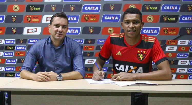 Mailson está no Sport desde 2014 / Williams Aguiar/Sport Club do Recife