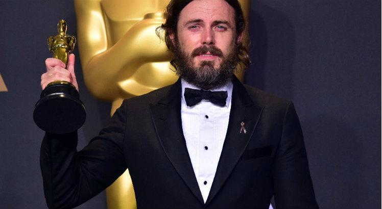 Casey Affleck no Oscar 2017 / Foto: Mark Ralston/AFP