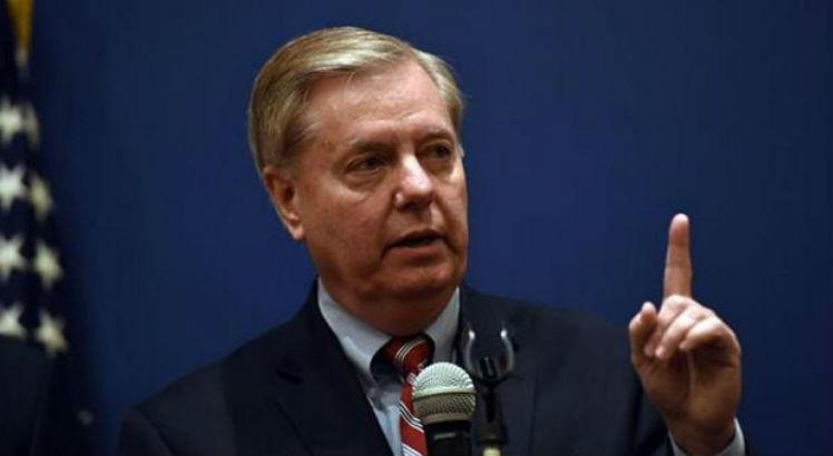 Lindsey Graham é senador pelo Estado da Carolina do Sul / Foto: AFP / Mohamed El-Shahed